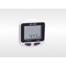 Спидометр электронный AS-820 цвет корпуса: 70бел, 15син, 15зел; цвет панели черн, 11 функций, Assize